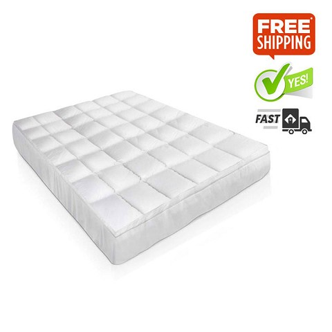 Goose Down & Feather Mattress Topper - King